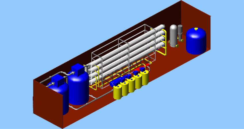 water desalination process