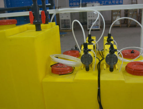 Chemical Dosing System of Seawater Desalination Plant
