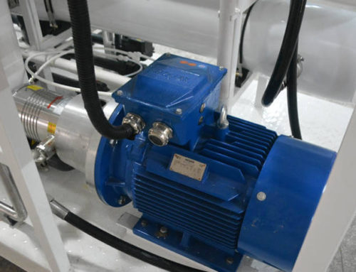 Function of Seawater Desalination Main Device