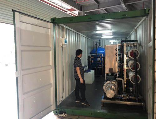 Maldives desalination plant project 100 m3 per day